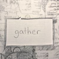 gather - word of the week - triplo クリエイティブラーニング英会話