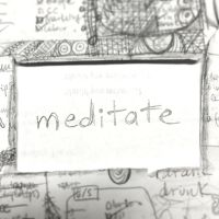 meditate - word of the week - triplo クリエイティブラーニング英会話