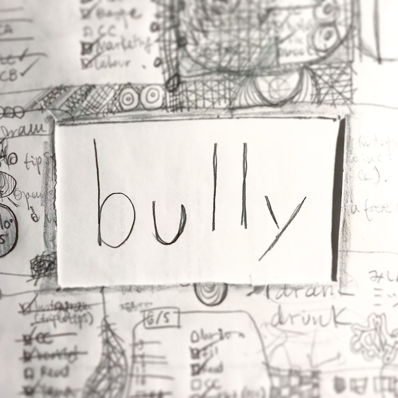 triplo word of the week - bully