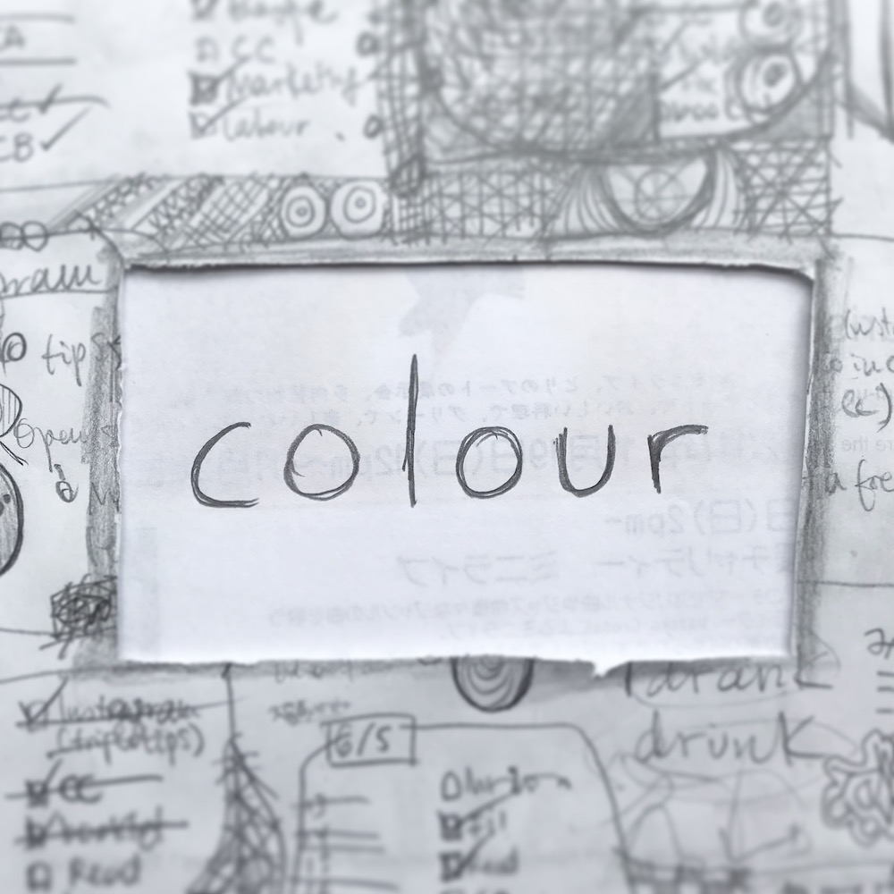 triplo word of the week - colour