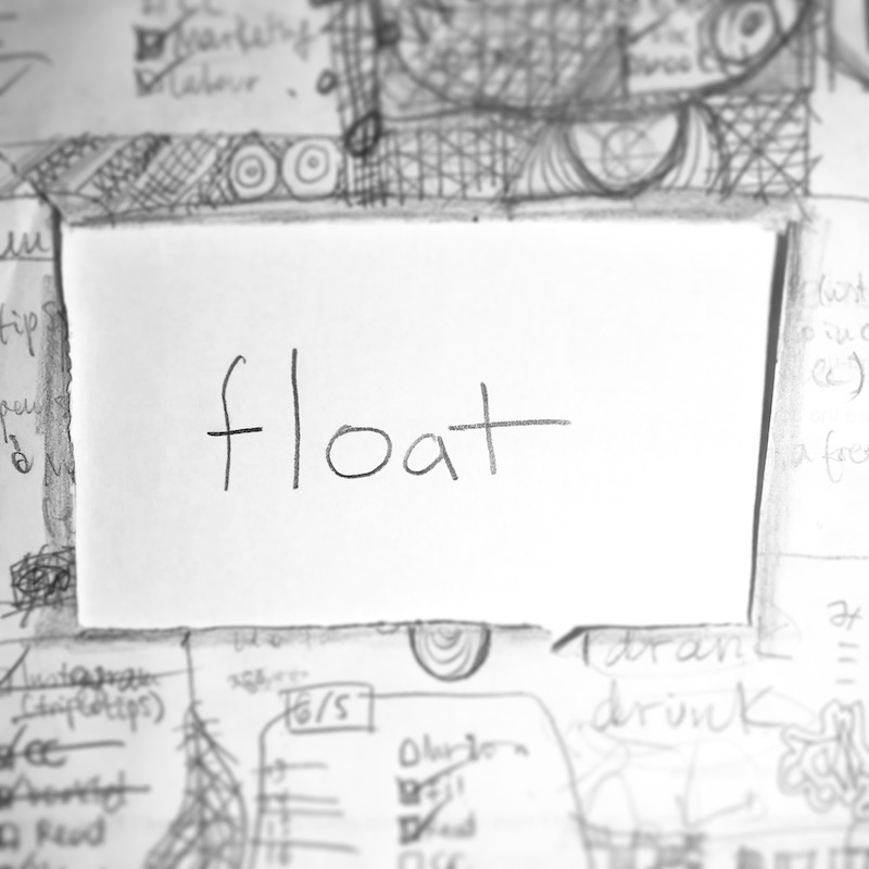 triplo word of the week - float