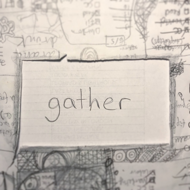 triplo word of the week - gather