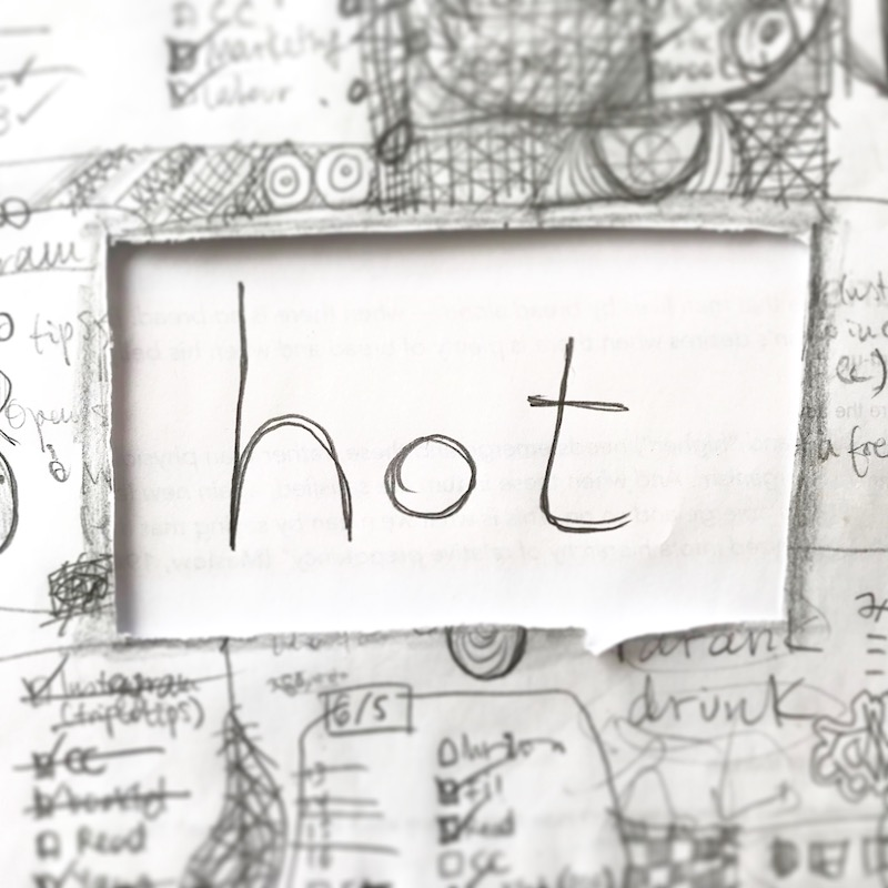 triplo word of the week - hot