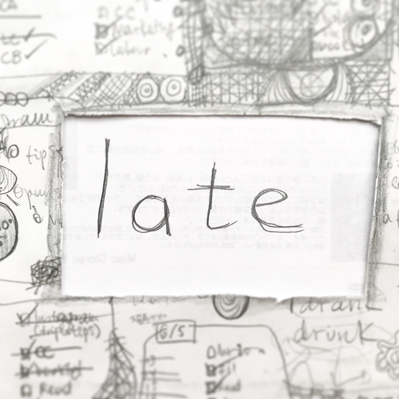 triplo word of the week - late