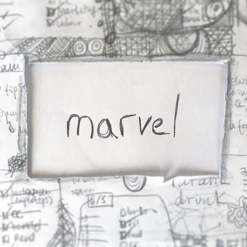 triplo word of the week - marvel
