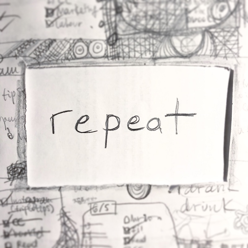 triplo word of the week - repeat