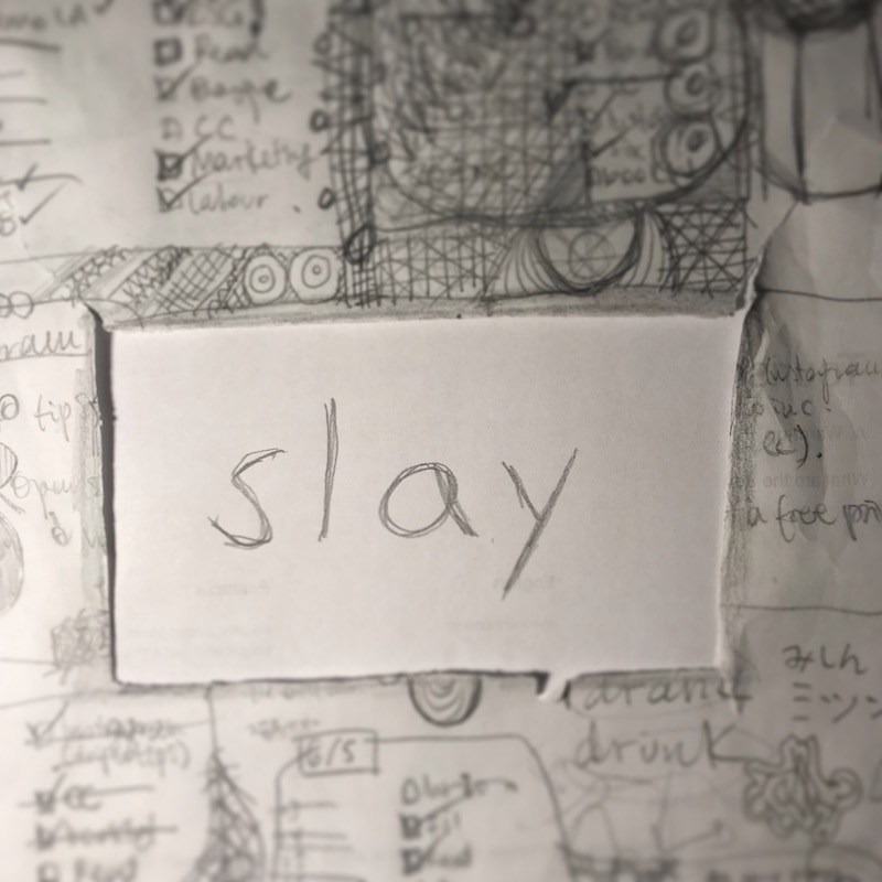 triplo word of the week - slay