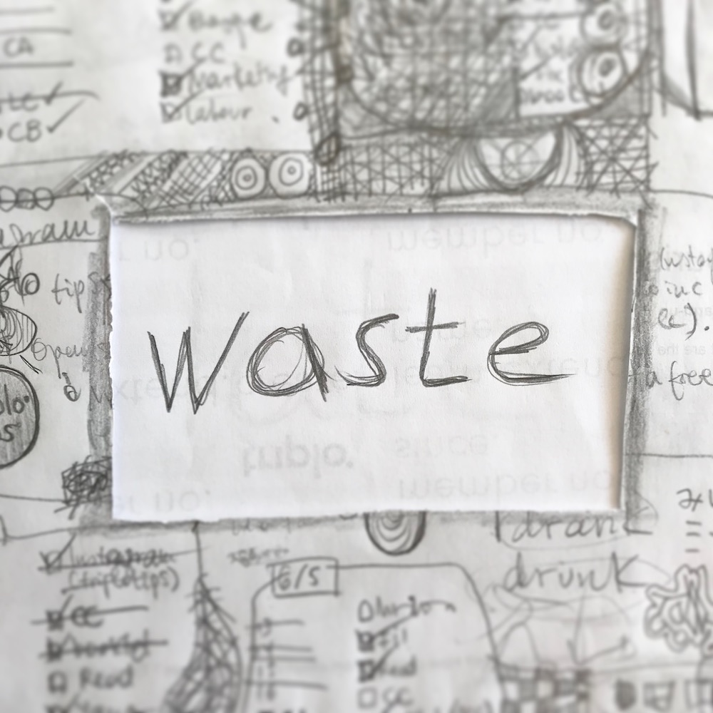 triplo word of the week - waste