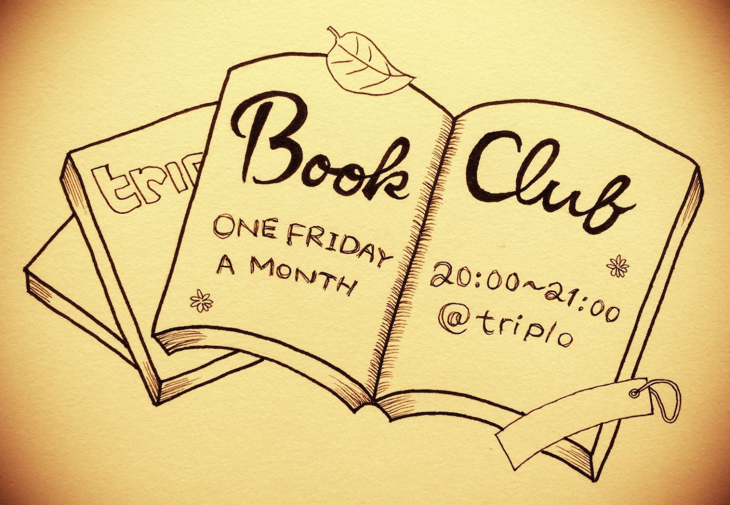Book Club at triplo